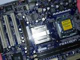Мат. плата Foxconn 661GX7MG (socket775 ), бу