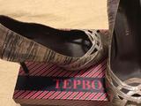 Туфли открытые женские, цвет серебряный/ бежевый